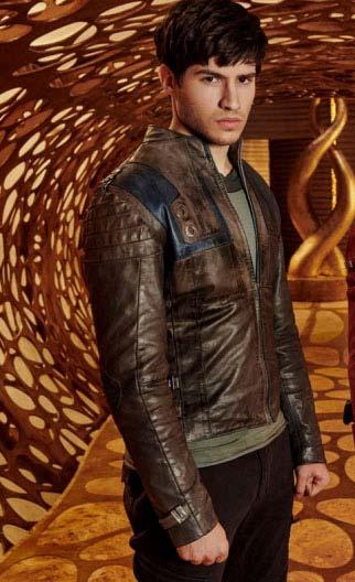 Krypton Leather Jacket