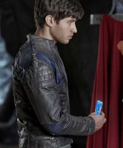 Seg El Krypton Leather Jacket