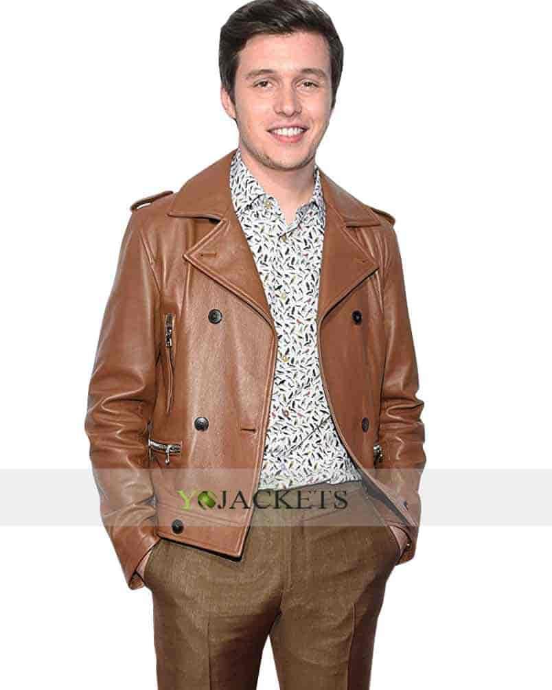 love-simon-premiere-brown-leather-jacket