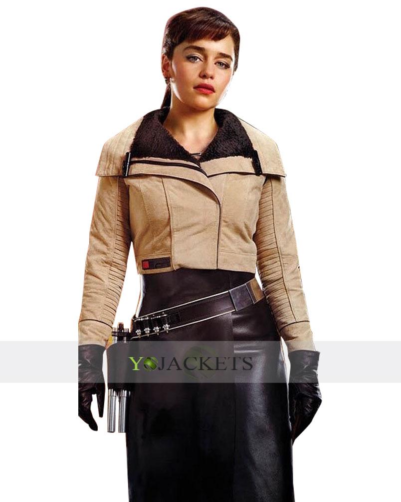 Emilia Clarke Star Wars Story Jacket