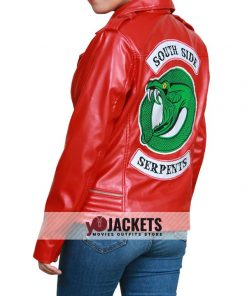 Riverdale Cheryl's Southside Serpents Leather Jacket
