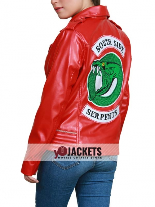 Riverdale Cheryl's Southside Serpents Leather Jacket