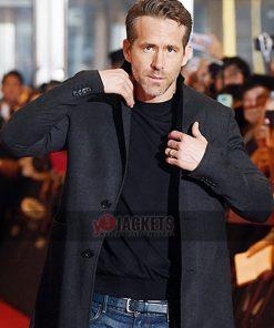 Deadpool 2 Event Ryan Reynolds Coat