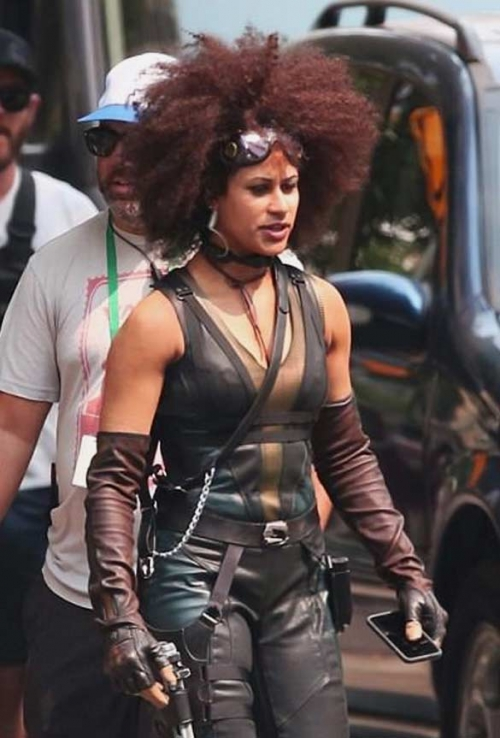 Deadpool 2 Zazie Leather Vest