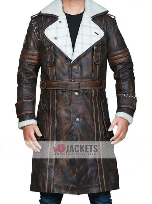fallout 4 Brown Shearling Coat