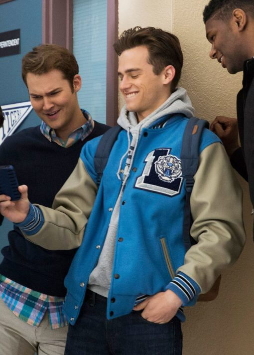 13 Reasons Why Liberty High Baseball Jacket