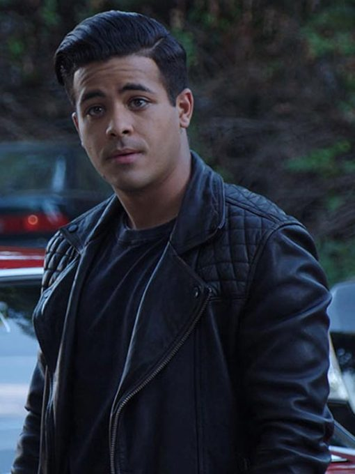 Christian Navarro Leather Jacket