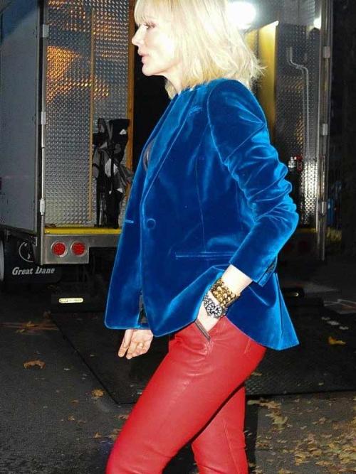 Ocean's Eight Cate Blanchett Velvet Blazer