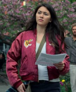 Colleen Wing Iron Fist Red Jacket