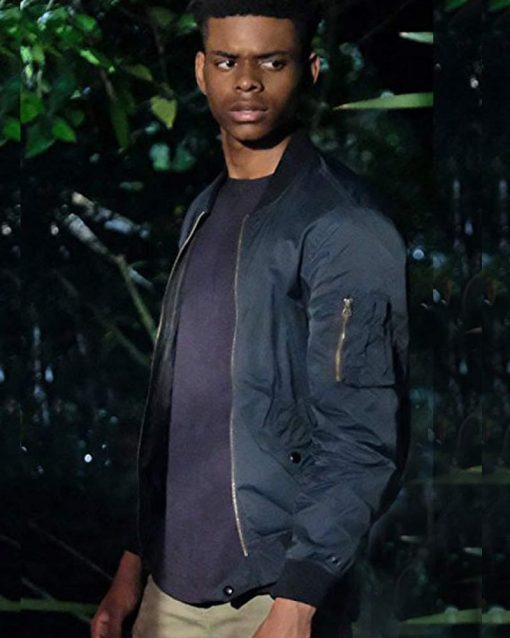 Aubrey Joseph Jacket Cloak & Dagger TV Series