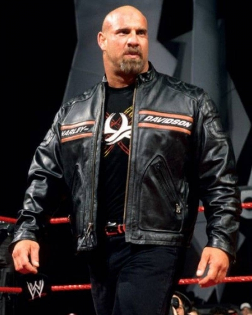 WWE Wrestler Bill Goldberg Bikers Jacket