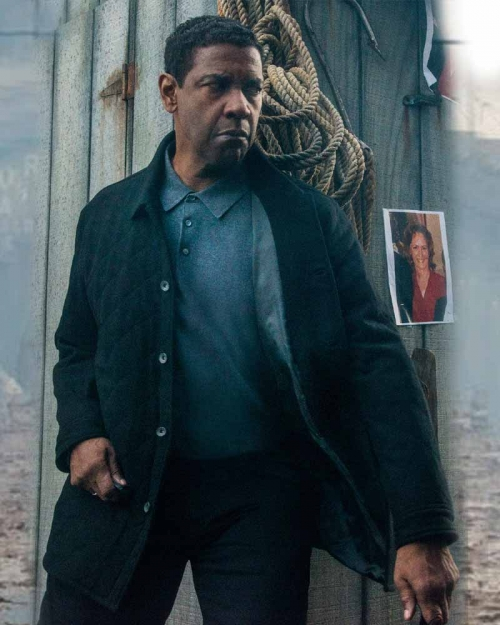The Equalizer 2 Robert McCall Black Jacket