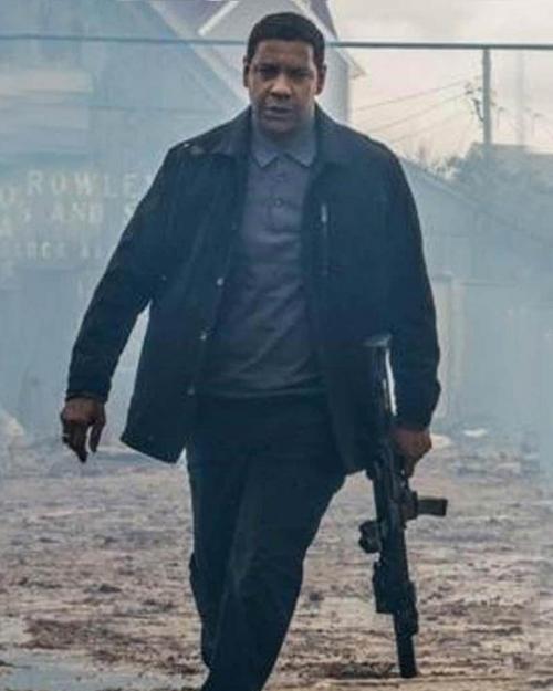 The Equalizer 2 Movie Denzel Washington Jacket