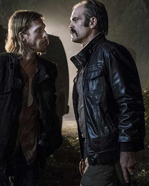 Simon leather jacket