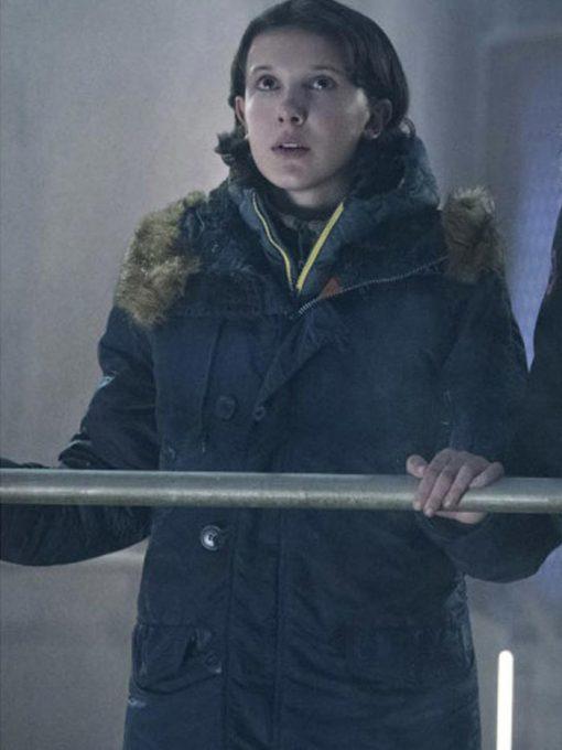 Millie Bobby Brown Godzilla 2 Coat