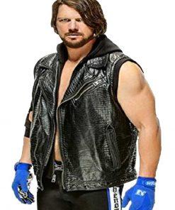 AJ Styles Hooded Vest