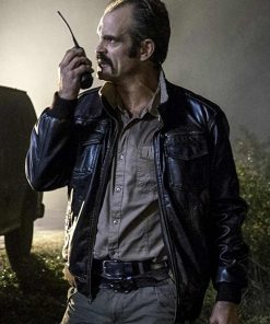 the Walking Dead Simon Leather Jacket