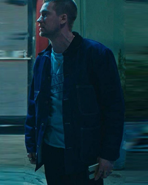 Blindspotting Rafael Casal Blue Jacket