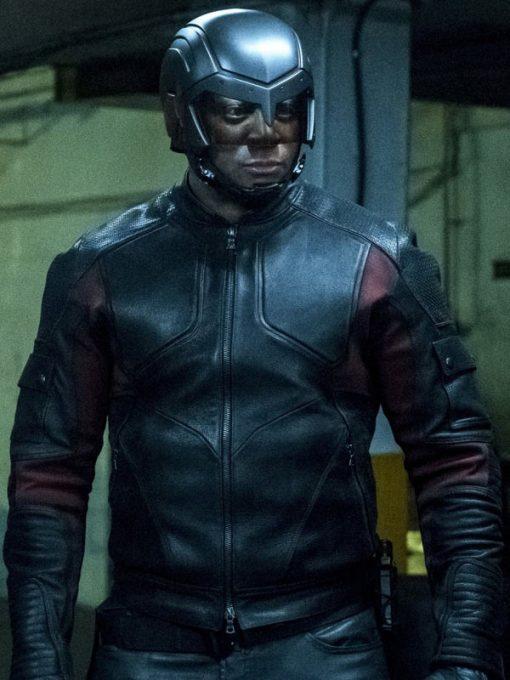 Arrow Season 6 John Diggle Leather Jacket
