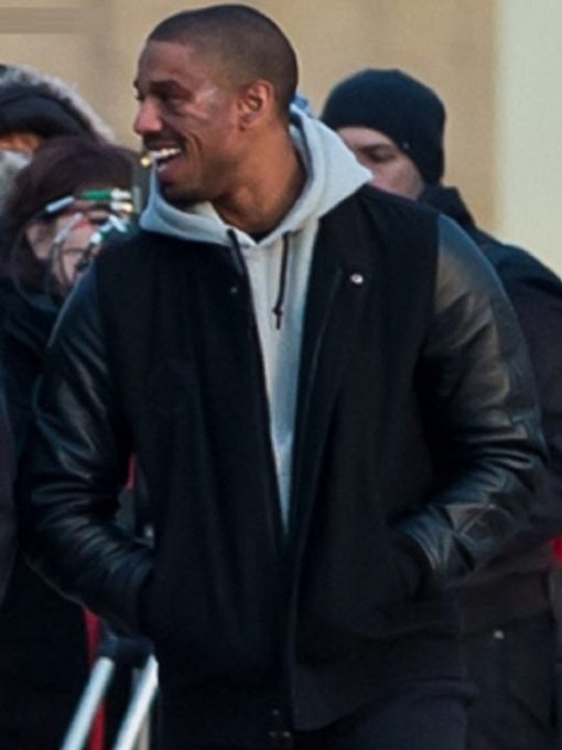 Michael B. Jordan Adonis Johnson Creed Varsity Jacket