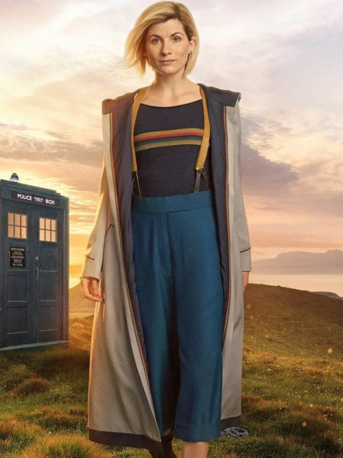 Jodie Whittaker 13th Doctor Long Coat