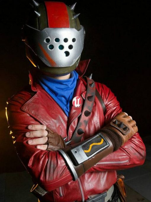 Fortnite Rust Lord Leather Jacket
