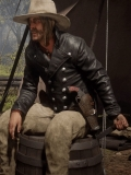 Red Dead Redemption 2 Micah Bell Leather Jacket