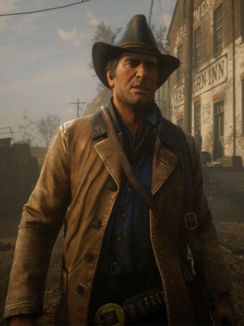 Red Dead Redemption 2 Gunslinger Jacket