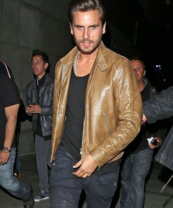 Scott Disick Moto Leather Jacket