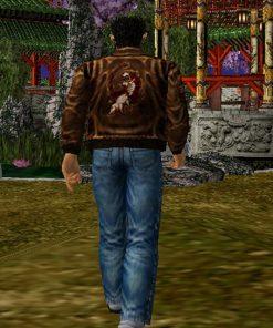 Roy Hazuki Shenmue 3 Video Game Suede Leather Bomber Jacket