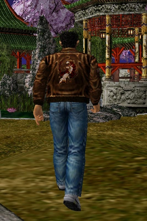 Roy Hazuki Shenmue 3 Video Game Suede Leather Bomber Jacket