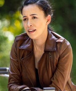 The Walking Dead Season 9 Rosita Espinosa Leather Jacket