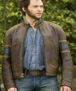 X-Men The Last Stand Logan Leather Jacket