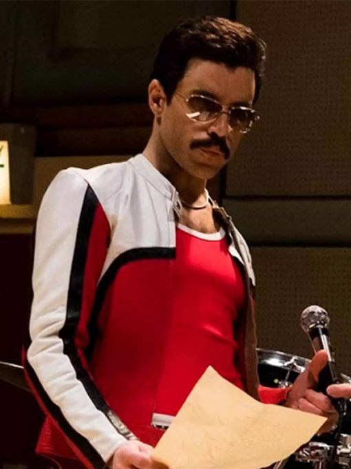 Rami Malek Bohemian Rhapsody Cafe Racer Jacket