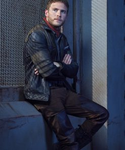 Agents Of Shield Leo Fitz Leather Jacket