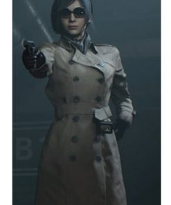 Resident Evil 2 Ada Wong Cotton Trench Coat