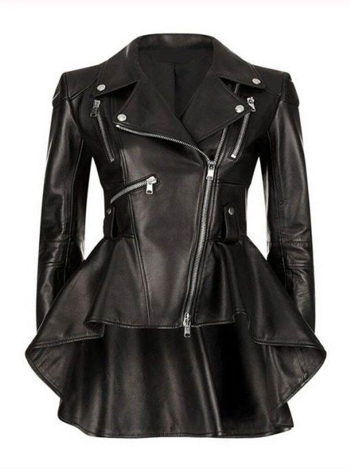 Emmy Raver Lampman Black Jacket