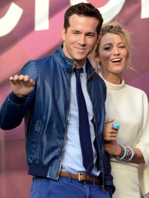 27-Times-Blake-Lively-And-Ryan-Reynolds-Leather-Jacket