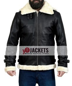 B3-Bomber-Shearling-Hooded-Black-Jacket