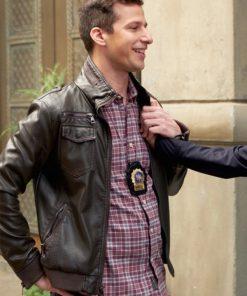 Brooklyn-Nine-Nine-Jake-Peralta-Leather-Jacket
