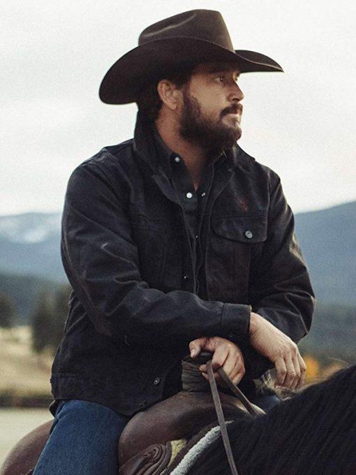 Cole-Hauser-Yellowstone-Black-Jacket