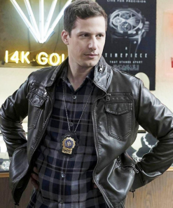 Jake-Peralta-Nine-Nine-Black-Leather-Jacket
