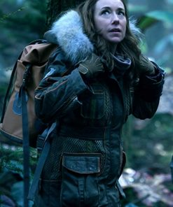 Molly-Parker-Lost-In-Space-Fur-Hearling-Coat