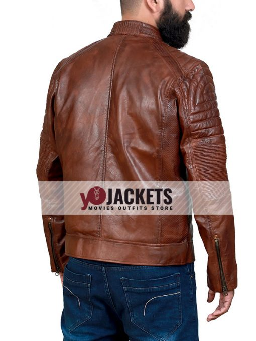 mens-distressed-cafe-racer-brown-leather-jacket