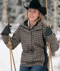 Amber Marshall Heartland Plaid Jacket