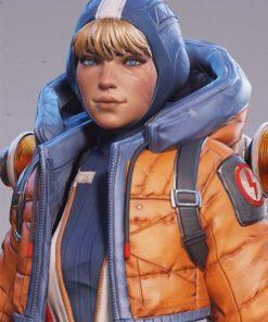Wattson Apex Legends hooded Jacket