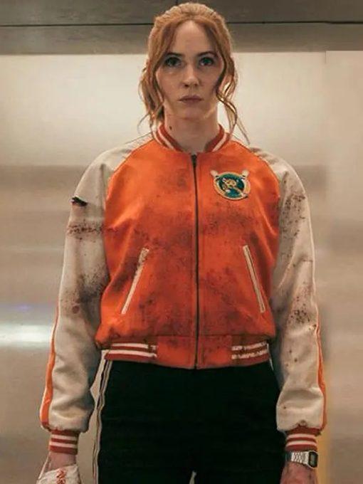 Karen Gillan Gunpowder Milkshake Jacket