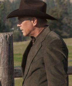 Yellowstone John Dutton Brown Coat