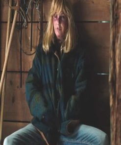 Kelly Reilly Yellowstone Flannel Jacket