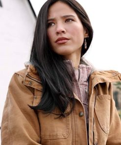 Kelsey Asbille Yellowstone Brown Jacket